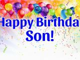 Happy Birthday Card for son On Facebook 140 Birthday Wishes for son Quotes Messages Greeting