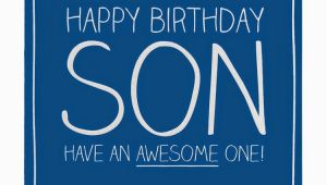 Happy Birthday Card for son On Facebook Birthday Wishes for son Birthday Wishes