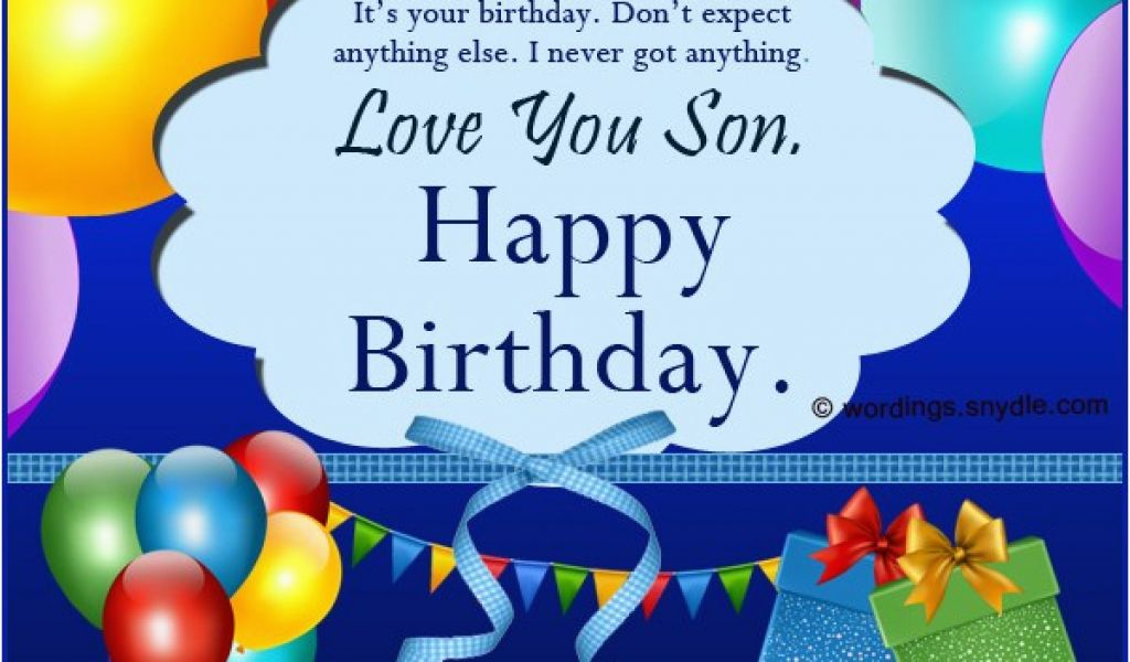 Download By SizeHandphone Tablet Desktop Original Size Back To Happy Birthday Card For Son On Facebook