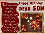 Happy Birthday Card for son On Facebook son Birthday Quotes for Facebook Quotesgram
