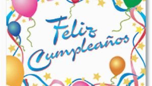 Happy Birthday Card In Spanish to Print Happy Birthday Feliz Cumpleanos Spanish Birthday Card