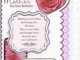 Happy Birthday Card Inserts Mother Birthday Card Colour Insert Birthday Greeting