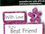 Happy Birthday Card to My Best Friend Happy Birthday Best Friend Diy Greeting Card toppers
