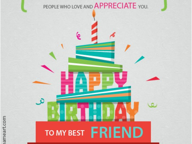 Download By SizeHandphone Tablet Desktop Original Size Back To Happy Birthday Card My Best Friend