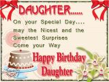Happy Birthday Card to My Daughter Happy Birthday Wishes for Daughter Messages and Quotes