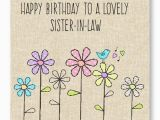 Happy Birthday Card to My Sister In Law the Best Collection Of Wonderful Birthday Cards for Sister