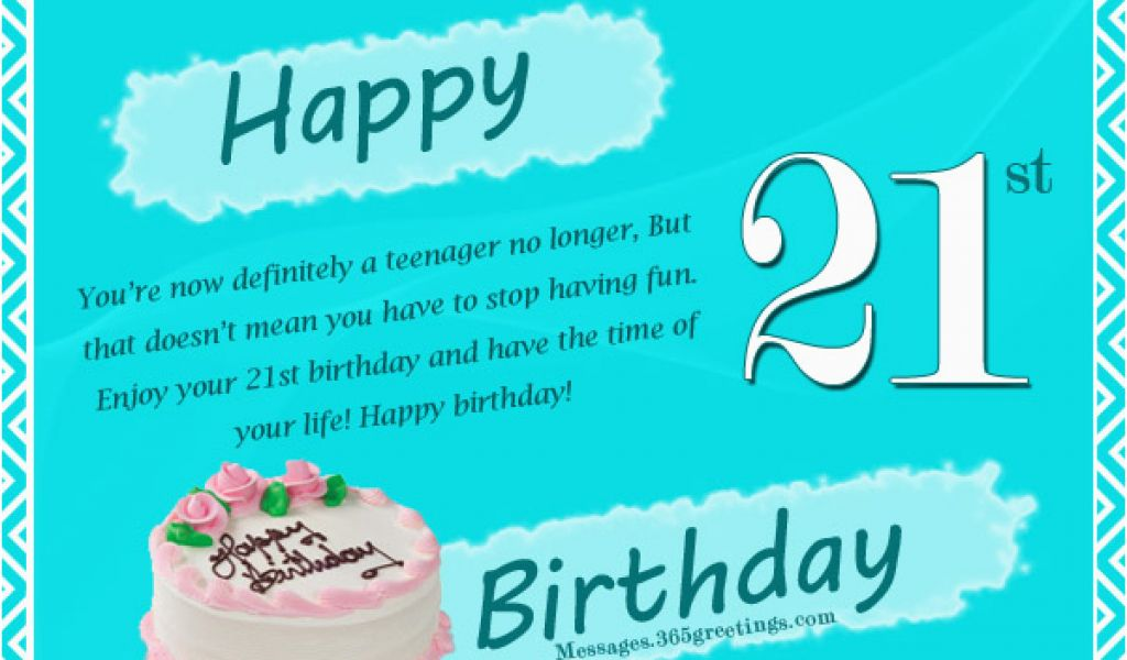 Download By SizeHandphone Tablet Desktop Original Size Back To Happy Birthday Cards 21 Years Old