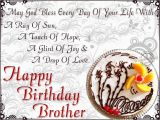 Happy Birthday Cards for A Brother Birthday Wishes for Brother Birthday Images Pictures