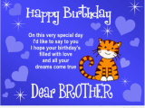 Happy Birthday Cards for A Brother Happy Birthday My Brothers with Wallpapers Images Hd top