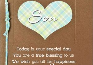 Happy Birthday Cards For A Son Free