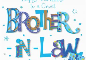 Happy Birthday Cards For Brother In Law Great Greeting Card