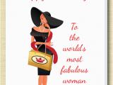 Happy Birthday Cards for Ladies Female Birthday Card C