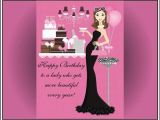 Happy Birthday Cards for Ladies Happy Birthday Pretty Lady Quotes Quotesgram