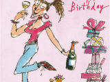 Happy Birthday Cards for Ladies Quentin Blake Female Happy Birthday Greeting Card Cards
