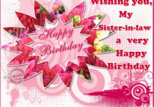 Happy Birthday Cards For Sister In Law Quotes Quotesgram