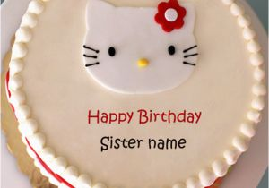 Happy Birthday Cards For Sister With Name Top 10 Cake And Messages Wishes
