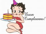 Happy Birthday Cards In Italian Betty Boop Pictures Archive Bbpa Betty Boop Happy