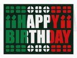 Happy Birthday Cards In Italian Italy Flag Birthday Card Zazzle