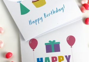 Happy Birthday Cards Printable Free Printable Blank Birthday Cards Catch My Party