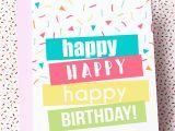 Happy Birthday Cards Printable Printable Birthday Cards Skip to My Lou