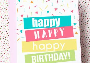 Happy Birthday Cards Printable Printable Birthday Cards Skip to My Lou