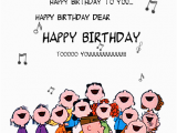 Happy Birthday Cards that Sing Charlie Brown Birthday Quotes Quotesgram