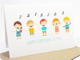 Happy Birthday Cards that Sing Happy Birthday Card Kids Singing Happy Birthday Hbc169