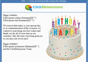 Happy Birthday Cards To Send Via Email Creating Automated And Personalized Emails