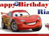 Happy Birthday Cards with Cars 8 Best Images Of Cars 2 Printable Birthday Cards Disney