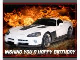 Happy Birthday Cards with Cars Happy Birthday Wishes with Cars