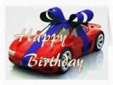 Happy Birthday Cards with Cars New Car Happy Birthday Card Zazzle