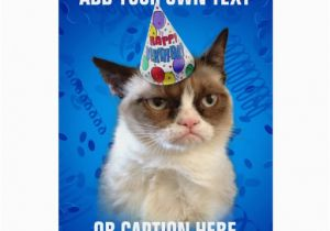Happy Birthday Cards with Cats Grumpy Cat Birthday Quotes Quotesgram
