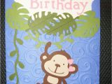 Happy Birthday Cards with Monkeys 192 Best Images About Cricut Monkey Ideas On Pinterest
