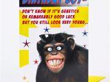 Happy Birthday Cards with Monkeys Birthday Card Smiling Monkey Only 1 39