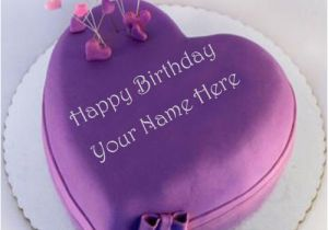 Happy Birthday Cards With Name Edit Cake For Facebook