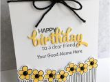 Happy Birthday Cards with Name Edit Happy Birthday Greeting Card with Name Edit 101 Birthdays