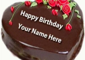 Happy Birthday Cards With Name Edit Wishes Images Beautiful