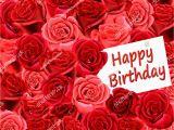 Happy Birthday Cards with Roses Birthday Card Roses Happy Birthday Stock Illustration