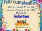 Happy Birthday Compadre Quotes Feliz Cumpleanos sobrino Nancho Que Lo Pases Muy Bien