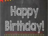 Happy Birthday Compadre Quotes Printable Art Prints Happy Birthday Chalkboard Print
