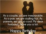 Happy Birthday Couple Quotes Romantic Birthday Quotes for Wife From Husband Image