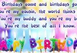 Happy Birthday Cousin Brother Quotes Happy Birthday Cousin Quotes Youtube