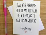 Happy Birthday Dad From Daughter Cards Happy Birthday Dad Card for Dad Funny Dad Card Gift for