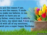 Happy Birthday Dad I Love You Quotes Dad Birthday Sayings