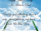 Happy Birthday Dad Rip Quotes Quotes About Dads In Heaven Quotesgram