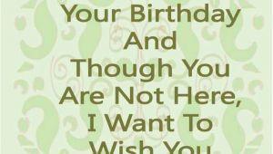 Happy Birthday Dead Mom Quotes Happy Birthday Mom Quotes