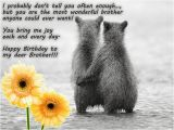 Happy Birthday Dear Brother Quotes Happy Birthday to My Dear Brother Pictures Photos and