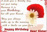 Happy Birthday Dear Sister Quotes Happy Birthday Dear Sister Pictures Photos and Images
