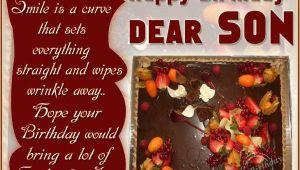 Happy Birthday Dear son Quotes Dear son Happy Birthday Quotes Quotesgram