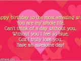Happy Birthday Dear Wife Quotes 38 Wonderful Wife Birthday Wishes Quotes Image for All the